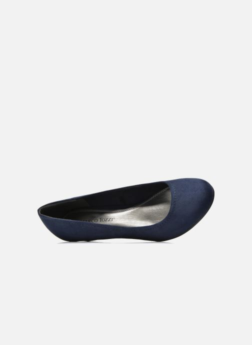 Pumps Marco Tozzi Imit 2 Blauw links
